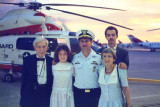 1989 - CDR Peter S. Heins and his family at his Change of Command Ceremony