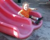 April 2007 - Kyler loves slides