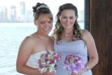 2007 - Karen and Donna at Karen's wedding reception (1239)