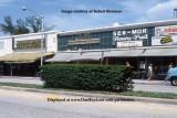 1970's - Butterflake, Gail's, Sen-Mor Flowers & Fruit and King David Delicatessen on Washington Avenue, Miami Beach