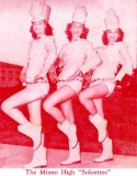 1952 - Miami High School Soloettes
