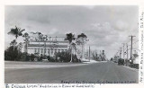 1930's - The Coliseum in Coral Gables when Douglas Road had trees next to it