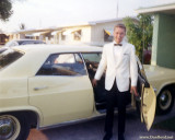 1965 - Senior Prom time and the 1965 Chevy Impala I rented from Hertz