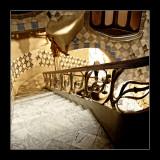 Stairs at Casa Batlló