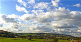 A NICE SKY ABOVE THE SOUTH DOWNS    1160