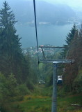 CHAIRLIFT IN THE RAIN