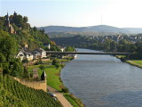 SAARBURG & THE RIVER SAAR