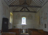 CHURCH CEILING, NAVE  & FONT
