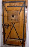 ANCIENT PRISON CELL DOOR