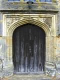 DECORATED CHURCH DOORWAY