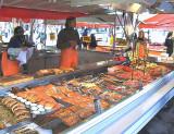 A Bergen Fish Market   1709