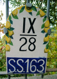 A Charming Road Number Sign