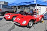 1957 Ferrari 625 TRC, foreground