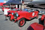 1928 Alfa Romeo 6C-1500 Sport Zagato Spider, driven by Phil Hill in 1978 Monterey Historics