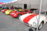 3 Ferraris and a Maserati