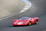 1968 Ferrari 312P driven by David Franklin