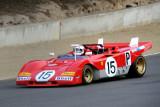 1971 Ferrari 312P driven by Ernie Prisbe