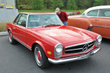 1968 Mercedes-Benz 280 SL, with removable hardtop