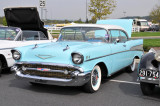 1957 Chevrolet  Bel Air coupe, $28,500