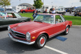 1968 Mercedes-Benz 280 SL, with removable hardtop, $65,000
