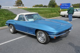 1967 Chevrolet Corvette Sting Ray roadster ... SOLD, by first morning of car corral