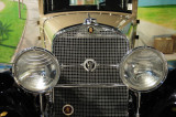 1931 Cadillac 355 Sedan, from the Cadillac LaSalle Club Museum, shown at the Antique Automobile Club of America Museum in 2008.