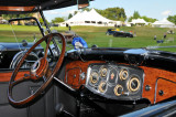 Dashboard of a 1934 Packard V12 Touring Car at the 2008 Meadow Brook Concours d'Elegance in Rochester, Michigan.