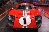 Dan Gurney and A.J. Foyt drove this 1967 Ford GT Mark IV to victory in the 1967 Le Mans race. (Henry Ford Museum, Dearborn)