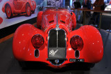 Ralph Lauren's 1938 Alfa Romeo 8C 2900B, shown at the Rolex Moments in Time exhibit at the 2008 Monterey Historic Races.