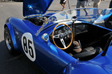 1966 Shelby Cobra in the paddock area of the 2008 Monterey Historic Automobile Races at Laguna Seca Raceway.