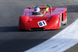 1970 Chevron B16 Spyder driven by Roy Walzer in the FIA sports racing  event of the 2008 Monterey Historic Races at Laguna Seca.