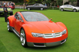 Dodge ZEO Concept car at a side event of the 2008 Pebble Beach Concours d'Elegance.