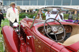1934 Packard 1108 Sport Phaeton, finalist for Best of Show award at the 2008 Pebble Beach Concours d'Elegance.