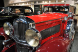 1931 Duesenberg Model J Convertible at the Petersen Automotive Museum in Los Angeles.