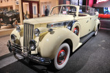 1939 Packard Super Eight Phaeton used by Juan and Evita Peron. Now at the Petersen Automotive Museum in Los Angeles.
