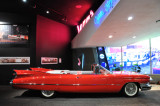 1959 Cadillac Series 62 Convertible at the Petersen Automotive Museum in Los Angeles.
