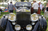 1936 Rolls-Royce 25/30 Fixed-Head Coupe at the 2008 Radnor Hunt Concours d'Elegance in Malvern, Pennsylvania.