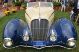 1937 Delahaye Model 135 by Figone & Falaschi, at the 2008 St. Michaels Concours d'Elegance on Maryland's Eastern Shore.