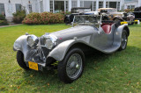 1939 SS 100 Jaguar 3½ Litre Roadster at the 2008 St. Michaels Concours d'Elegance on Maryland's Eastern Shore.