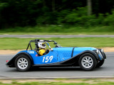 1963 Morgan 4 Plus 4 during the 2006 Jefferson 500 weekend at Summit Point Raceway in West Virginia.