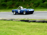 1964 Triumph Spitfire during the 2006 Jefferson 500 weekend at Summit Point Raceway in West Virginia.