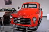 1952 GMC 102-22 pickup, owned by Howard Kolus