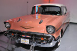 1957 Chevrolet Bel Air, owned by Bill and Toni Schreiber