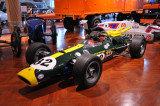 Jim Clark drove this 1965 Lotus 38 to victory in the 1965 Indianapolis 500. (Henry Ford Museum, Dearborn, Michigan)