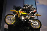 Suzuki racing motorcycle.