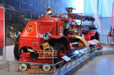 1918 Mack Model AC Fire Truck, originally used in Baltimore, on loan from Mack Truck Historical Museum.