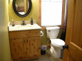 Fourth bedroom and game area's bathroom