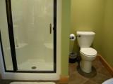 Master bedroom's private bathroom