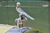 Hood ornament of 1924 Packard Model 143 Town Car by Fleetwood