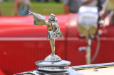 Hood ornament of 1929 Cadillac 341-B Roadster